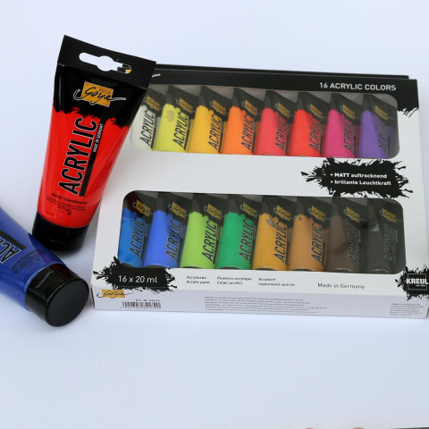 Acrylfarben-Set 20 ml