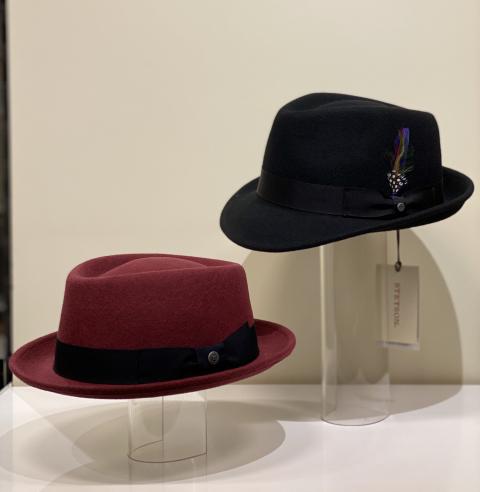 Herrenhüte von Bugatti und Stetson