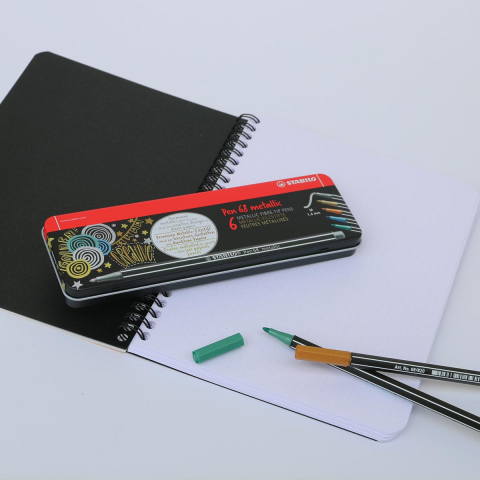 Stabilo 6 Metallic Pen