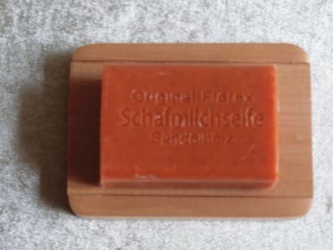 "Schafmilchseife ""Sandelholz""   100 g"
