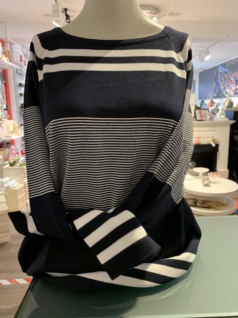 Lebek Pullover maritim