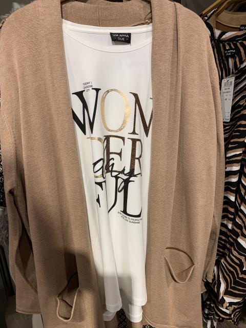 Via Appia T-Shirt und Weste