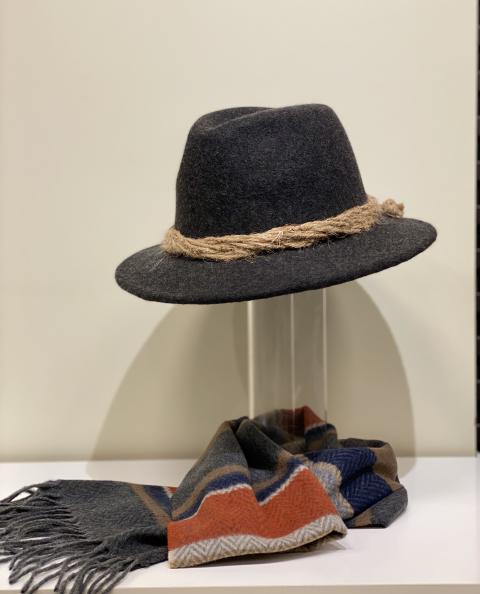Hut für Herren aus reiner Wolle