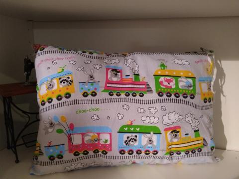 KLEINigkeiten Kissen Eisenbahn