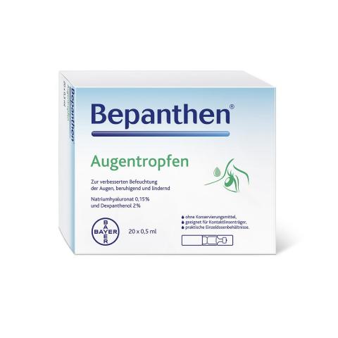 Bepanthen® Augentropfen 20 × 0,5 ml